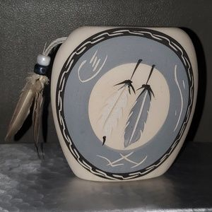 Other - Native American Feathers vase